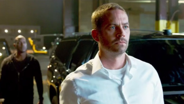 "Paul Walker en ""Furious 7″."