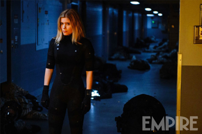 "Kate Mara como Sue Storm / The Invisible Woman en ""Fantastic Four""."