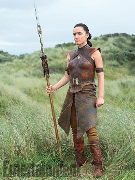 """Keisha Castle Hughes como Obara Sand en """"Game of Thrones""""."""