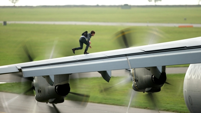 "Escena de ""Mission: Impossible – Rogue Nation""."