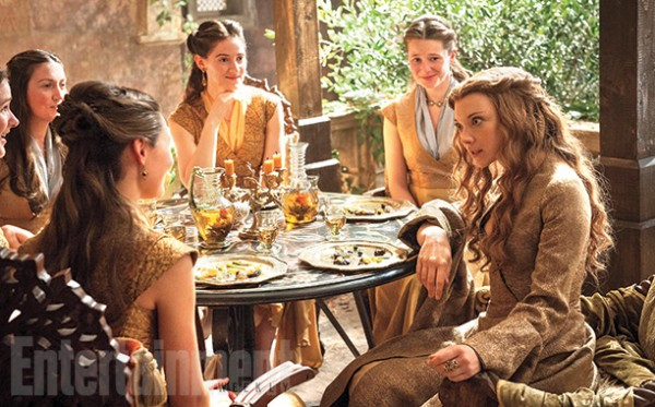 """Natalie Dormer en la 5ta. temporada de """"Game of Thrones""""."""