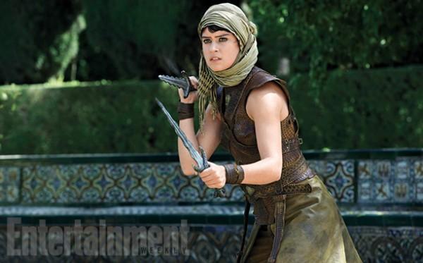 "Rosabell Laurenti Sellers como Tyene Sand en ""Game of Thrones""."