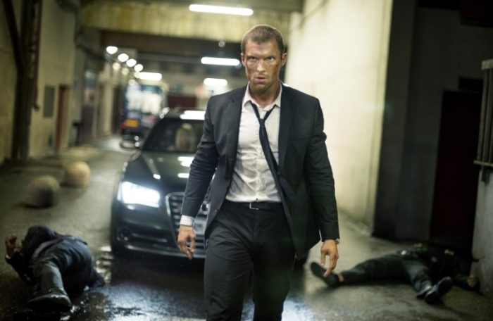 "Ed Skrein es Frank Martin en ""The Transporter Refueled""."