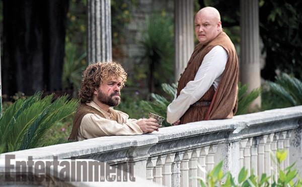 """Peter Dinklage y Conleth Hill en """"Game of Thrones""""."""