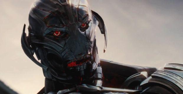 "Imagen de Ultron en ""Avengers: Age of Ultron""."