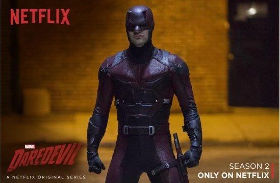 "Imagen del ""Daredevil"" de Netflix."