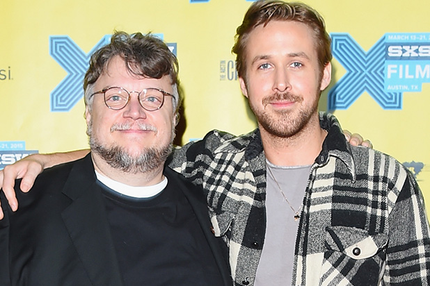 "Guillermo del Toro y Ryan Gosling trabajaran juntos en película de Disney ""Haunted Mansion""."