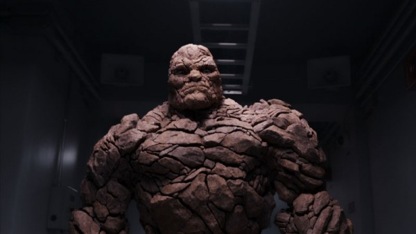 "Imagen de The Thing en ""Fantastic 4″."
