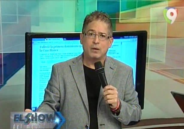 Iván Ruíz, productor y conductor de el Show del Mediodía.