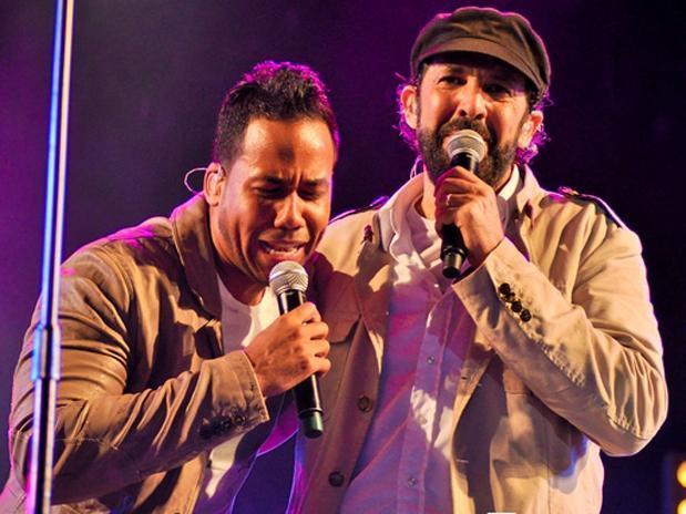 Juan Luis Guerra y Romeo Santos son dos de los máximos representantes del ritmo de la bachata en el escenario nacional e internacional.