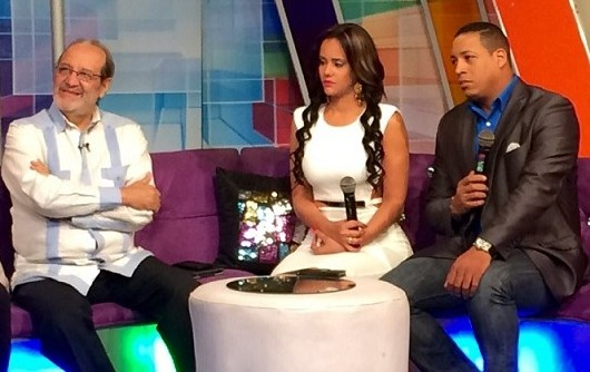 Miguel A. Herrera, Mabel Henríquez y Julio Clemente.
