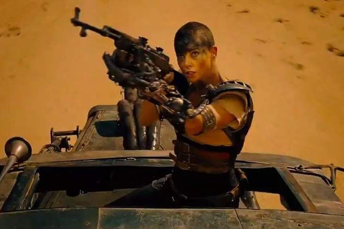 "Charlize Theron es Furiosa en ""Mad Max: Fury Road""."
