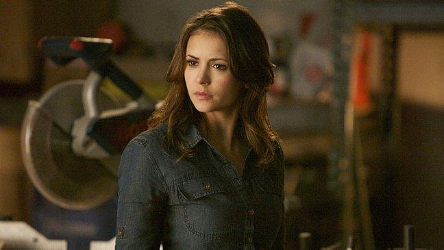 """Nina Dobrev como Elena Gilbert en """"The Vampire Diaries""""."""