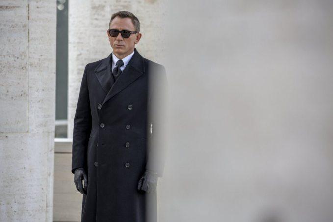"Daniel Craig como James Bond en ""Spectre""."