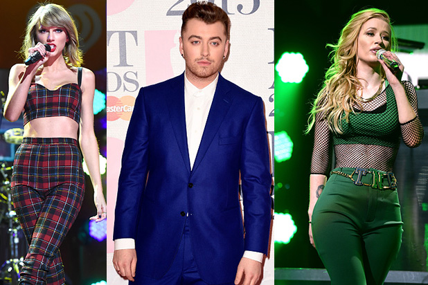 Taylor Swift, Sam Smith e Iggy-Azalea, principales nominadas de los Billboard Music Awards 2015.