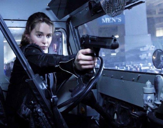 """Emilia Clarke en """"Terminator: Genisys""""."""