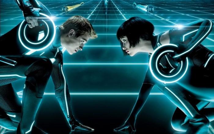"""Escena de """"TRON: Legacy"""" (2010)."""