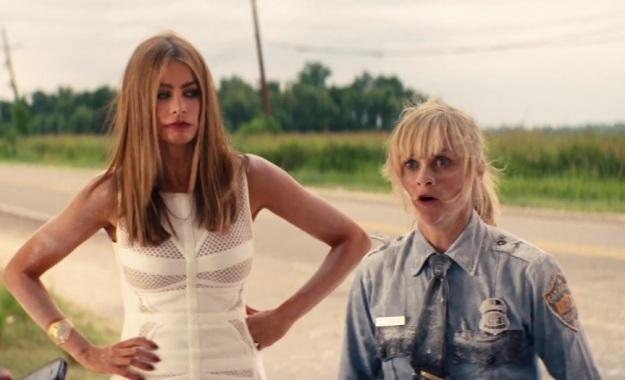 "Vergara y Witherspoon en ""Hot Pursuit""."