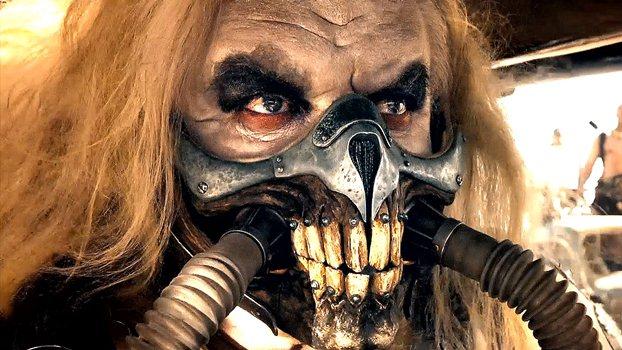 """Hugh Keays-Byrne es Immortan Joe en """"Mad Max: Fury Road""""."""