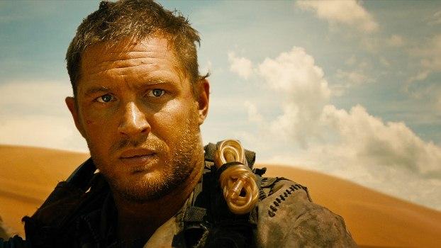 """Tom Hardy es Max Rockatansky en """"Mad Max: Fury Road""""."""