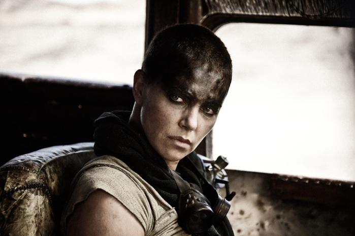 "Charlize Theron es Imperator Furiosa en ""Mad Max: Fury Road""."