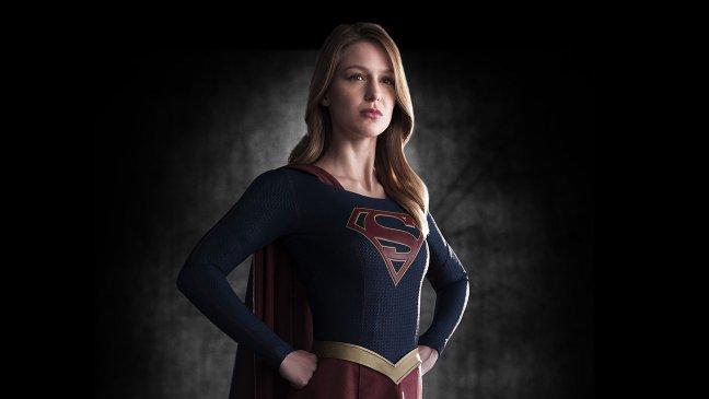 """Melissa Benoist en """"Supergirl""""."""