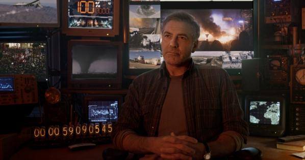 """George Clooney es Frank Walker en """"Tomorrowland""""."""