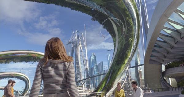 "Escena de ""Tomorrowland""."