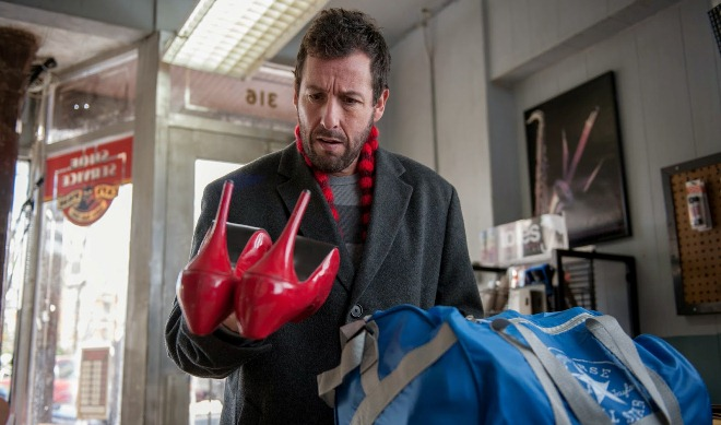 "Adam Sandler en ""The Cobbler""."