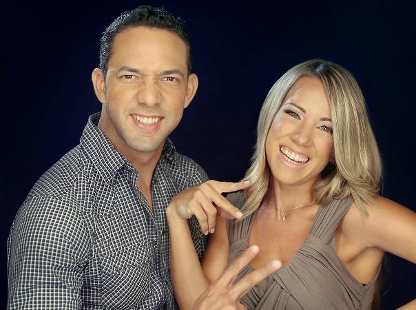 """Sergio Carlo y Karina Larrauri conducen """"12 y 2″ en la emisora 91.3 FM"""