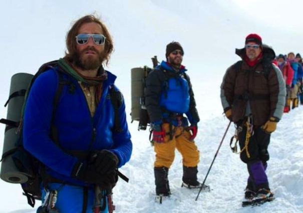 "Jake Gyllenhaal en ""Everest""."