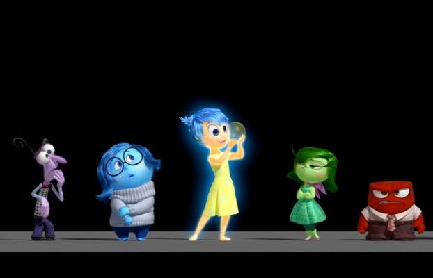 """Escena de la película de Pixar y Disney """"Inside Out""""."""