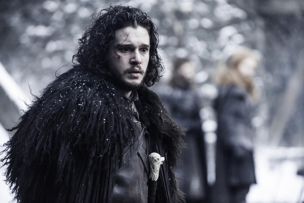 "Kit Harington como Jon Snow en ""Game of Thrones"" (5ta. temporada)."
