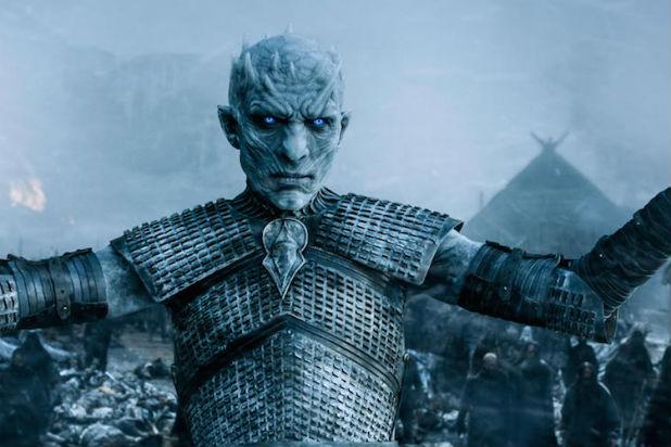 """El líder de los Caminantes Blancos en el penúltimo capítulo del final de temporada de """"Game of Thrones"""" (temporada 5)."""