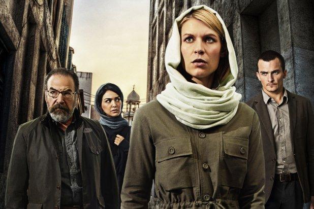 "Imagen de la 4ta. temporada de ""Homeland""."