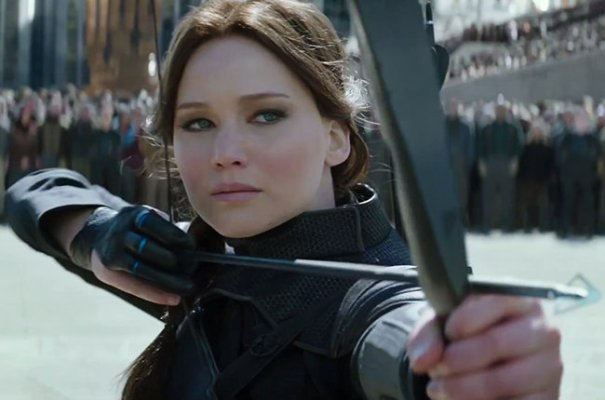 "Jennifer Lawrence es Katniss Everdeen en ""The Hunger Games: Mockingjay – Part 2″."
