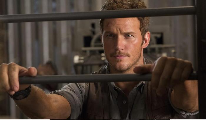 "Chris Pratt es Owen en ""Jurrasic World""."