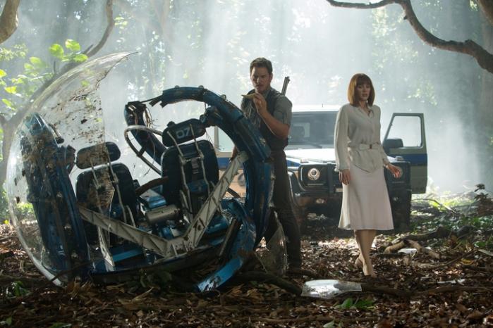 "Escana de ""Jurassic World""."