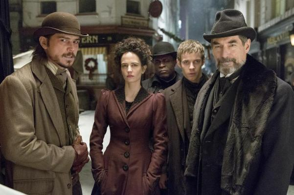 "Josh Hartnett, Eva Green. Danny Sapani, Harry Treadaway y Timothy Dalton en ""Penny Dreadful""."
