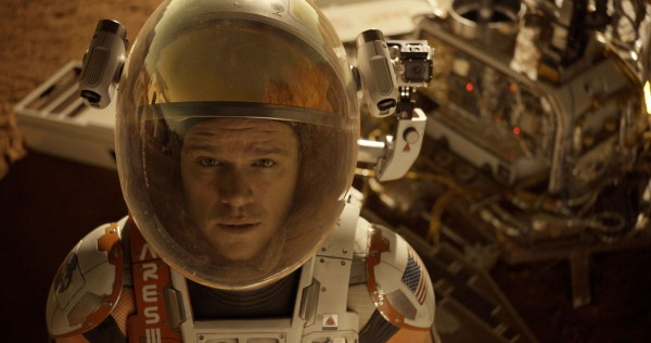 "Matt Damon es Mark Watney en ""The Martian"". / Vía Twentieth Century Fox."