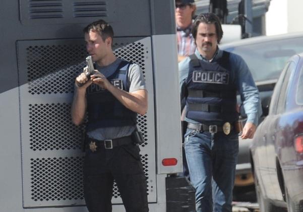 """Taylor Kitsch y Colin Farrell en """"True Detective"""" (segunda temporada)."""