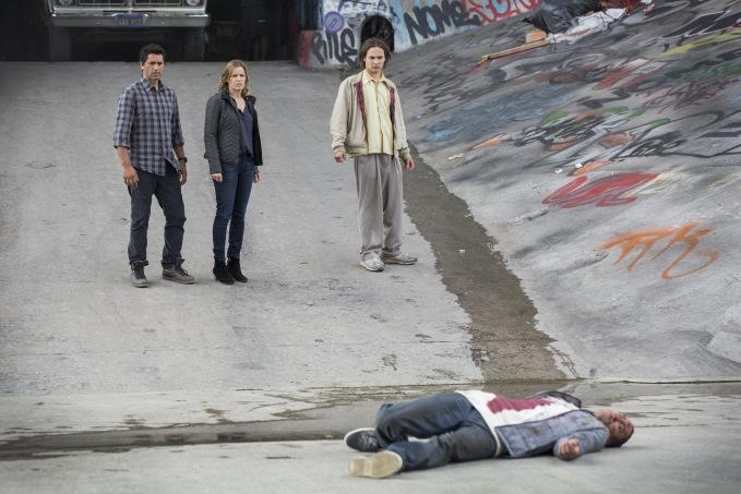 "Escena de ""Fear The Walking Dead""."