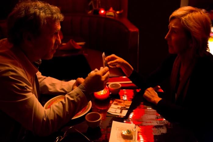 "Steve Coulter y Lin Shaye en ""Insidious: Chapter 3″."