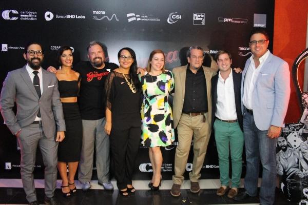 """Actores, productores y distribuidores de """"La Gunguna""""."""