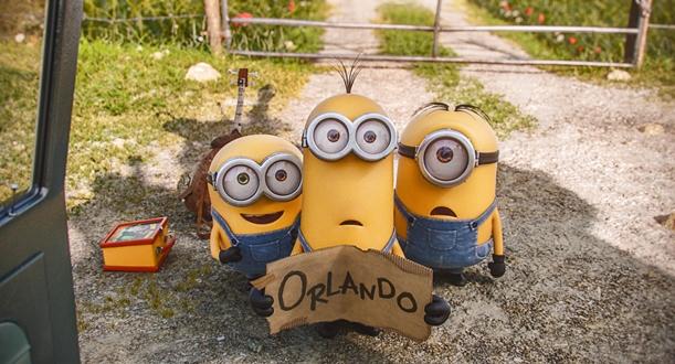 """Kevin, Stuart y Bob en """"Minions""""."""