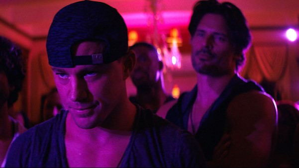 "Channing Tatum y Joe Manganiello en ""Magic Mike XXL""."