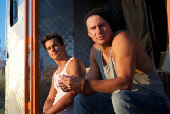 "Matt Bomer y Channing Tatum en ""Magic Mike XXL""."