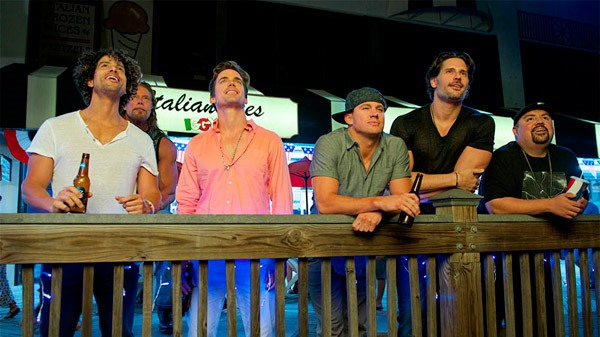 "Escena de ""Magic Mike XXL""."