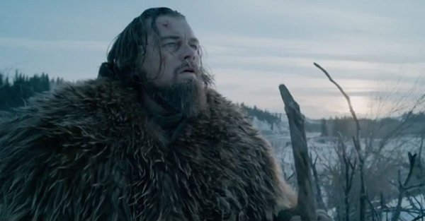 "Leonardo DiCaprio es Hugh Glass en ""The Revenant""."