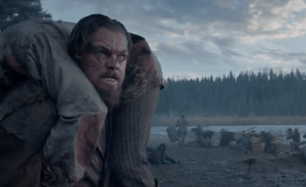 "Escena de ""The Revenant""."